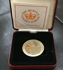 British Medal Issued for the Golden Jubilee of Queen Elizabeth II, in BOX / N135
