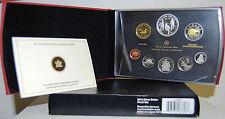 Canada 2012 Silver Dollar Proof Set / Kanada KMS silber Cartera Plata Dolar