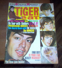 Tiger Beat Magazine 1966 The Beatles Monkees Raiders Sonny & Cher London Scene