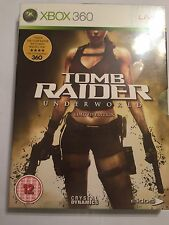 BRAND NEW XBOX 360 TOMB RAIDER UNDERWORLD LIMITED EDITION PAL BNIB SEALED