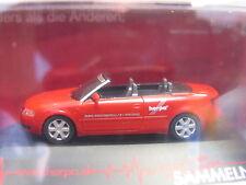 Herpa 257336 audi a 4 convertible rojo embalaje original (l6457)