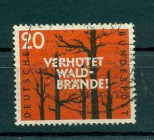 Allemagne -Germany 1958 - Michel n. 283 - Les incendies de fèrets