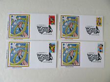 Wonder Woman Sc#5147-50 COLORANO SILK FDCS (4 Limited Edition Covers) 2016 {#3}