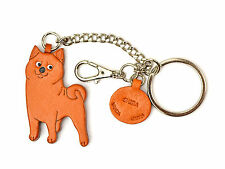 Shiba Inu Handmade 3D Leather Dog Bag/Ring Charm VANCA Made in Japan#26071