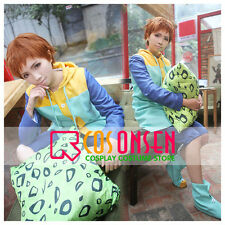 Cosonsen The Seven Deadly Sins Harlequin/King Cosplay Costume With Pillow