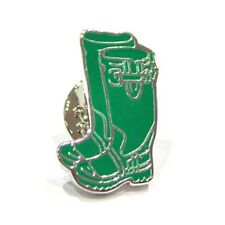 Green wellies, Farming Wellingtons Novelty Pin Badge, Tie Pin / Lapel Pin Badge