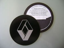 Magnetic Tax disc holder fits any renault clio scenic laguna espace silver me