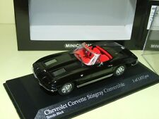CHEVROLET CORVETTE STINGRAY Cabriolet 1963 Noir MINICHAMPS