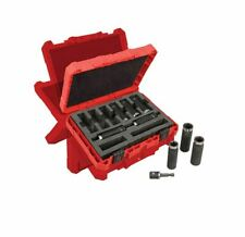 "MILWAUKEE 49-66-4484 SHOCKWAVE™ 1/2"" Deep Well Socket Set (9 PC)"