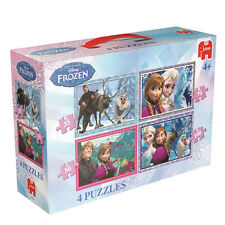 JUMBO 17429 Disney Frozen - Frozen 4in1 Puzzles / Jigsaw -  Brand New in Box
