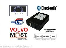 Volvo c30, s40, v50, s60, v70, s80, xc70, xc90 USB mp3 aux Bluetooth Interface trioma