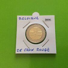 1 pièce de 2 € commémorative Belgique 2014 La Croix Rouge