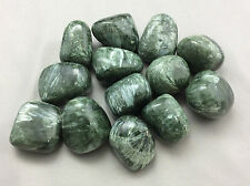Large Tumbled Seraphinite Seraphenite-Angelic Connection, Metaphysical Healing