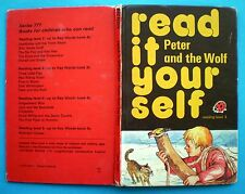 Peter And The Wolf vintage Ladybird book fairy story children Read It Yourself.