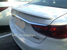 MIT MAZDA 6 MAZDA6 ATENZA 2013-on OE style ABS rear trunk lip spoiler-Unpainted