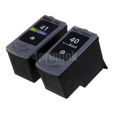 Set 2 PG40 CL41 Ink for Canon PIXMA MX300, PIXMA MX310 - show Ink level