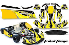 AMR Racing Graphics CRG NA2 Kart Wrap New Age Sticker Decal Kit TRIBAL FLAMES Y