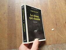 GALLIMARD SERIE NOIRE 2337 JAMES MC CLURE le chien qui chante 1994
