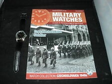 Eaglemoss Military Watches  Issue 34 - Czechoslovakian Soldier's Watch  NO BOX