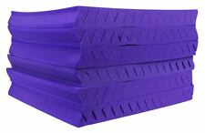 "12 PACK - Auralex 2SF22PUR-HP 2' x 2' Studio Foam Wedges 2"" Thick (Purple)"