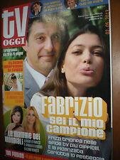Tv Oggi.FABRIZIO FRIZZI & CARLOTTA MANTOVAN,ILARIA D'AMICO & PAOLA FERRARI,zzz