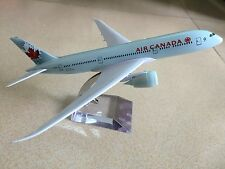 20CM Solid AIR CANADA BOEING 787 Passenger Airplane Plane Metal Diecast Model