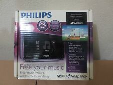 Philips Streamium Network Player NP1100 Internet Radio WiFi Network Music Player