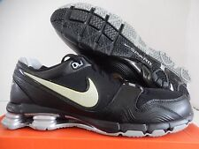 NIKE SHOX NSTNKT TURBO BLACK-METALLIC SILVER SZ 13 [366658-001]
