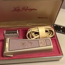 Lady Remington Electric Shaver By Sperry Rand, Vintage In Case