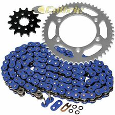BLUE O-Ring Drive Chain & Sprockets Kit Fits YAMAHA WR400F 1999 2000