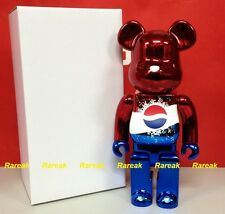 Medicom 2011 Be@rbrick Pepsi Metallic Red Lottery Prize 400% Limited Bearbrick