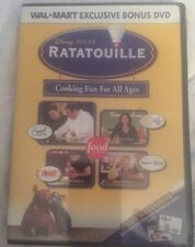 Disney Pixar Ratatouille Cooking Fun for All Ages DVD Wal Mart Exclusive Bonus