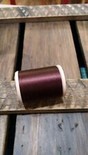 Gudebrod Nylon Rod Winding Thread 396 Brown Size D 1 Oz 575 Yards