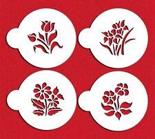 Botanical Flowers Cookie Stencils by Designer Stencils #C352