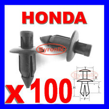 HONDA FAIRING PANEL TRIM CLIPS RIVETS FASTENERS 6mm