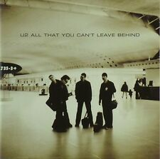 CD - U2 - All That You Can't Leave Behind - #A3833