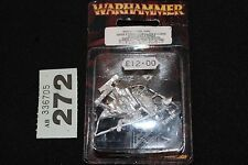 Games Workshop Warhammer Wood Elves Eternal Guard 3 Figures Metal OOP Army New