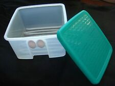 NEW Tupperware 3993A-3 Small Fridge Smart Green Sheer 4½ cups/1.1 L  (B522)