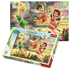 Trefl 160 Piece Kids Girls Disney Tinkerbell Fairies Fun Flying Jigsaw Puzzle