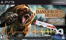 Cabela's Dangerous Hunts 2013 Bundle for Playstation 3 Brand New!