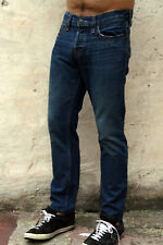 Hollister California Mens Faded Blue Denim Jeans Straight Leg W30 L28 LOOK!