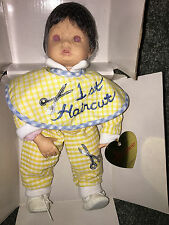 EFFANBEE DOLL Baby's First Hair Cut KATHY SMITH FITZPATRICK Collectible VINTAGE