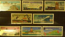 POLAND-STAMPS MNH Fi2328-35 Sc2188-95 Mi2475-82 - Polish ports - 1976, clean