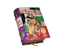 New Miniature Book Spanish Kama Sutra color Illustrated 470 pages easy to read