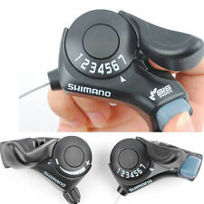 Shimano SL-TX30 3x7Speed Thumb Gear Shifters Set MTB Bike Bicycle Shift Levers