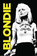 Blondie Poster - Camp Funtime - Classic Blondie B&W Music Poster