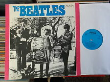 THE BEATLES  DDR AMIGA LP: THE BEATLES (MELODIA ; BLAU; TROMMELCOVER)