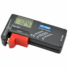 AAA AA C D Battery Tester BT-168D 1.5V 9V Button Cell Rechargeable BY
