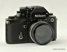 Nikon F2  Black Body with Nikon Nikkor 50mm f/1.8 Lens