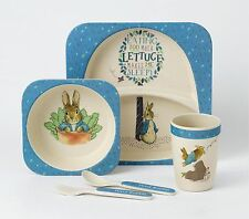 Beatrix Potter Peter Rabbit Melamine Dinner Set Gift Idea NEW  26197